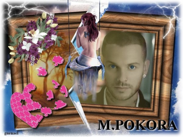 "les demandes  "" center blog ""    christophe ma� *   m.pokora"
