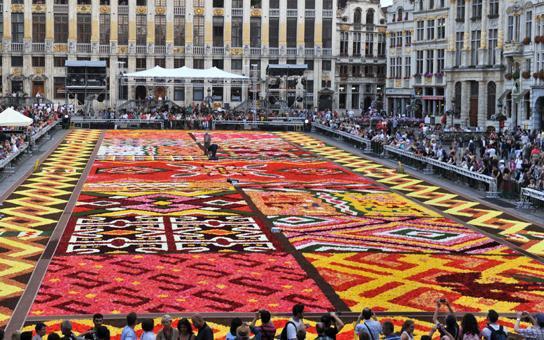 tapis de fleurs bruxelles 2012 de creationmartine